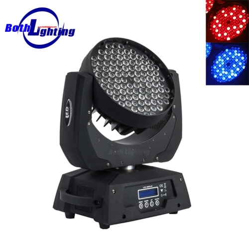 108 * 3W RGBW führte Moving Head Wash-Licht