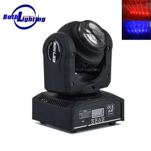 1pcs 10w + 4X12W RGBW PFEILER LED Mini-Moving-Head-Licht