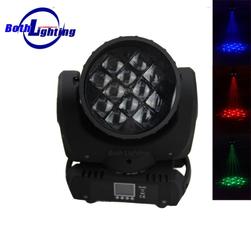 12x10W RGBW LED Effekt Moving Head Bühnenlicht