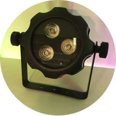IP65 wasserdichtes 3x18w RGBAW UV 6in1 LED-Scheinwerferlicht
