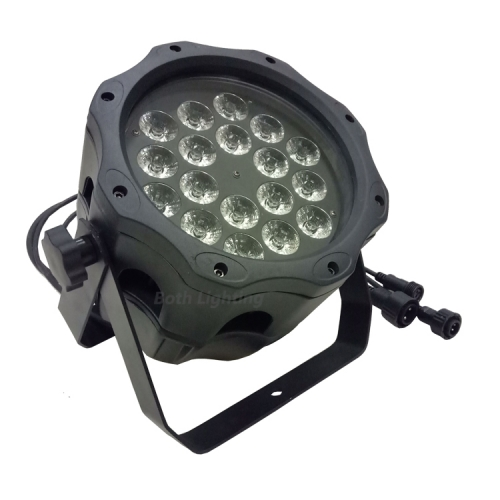 Neues Design IP65 Wasserdicht 18 * 18W 6 IN 1 LED PAR