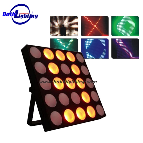 Punktmatrix-Licht 25 * 30W RGB 3in1 Tri Color