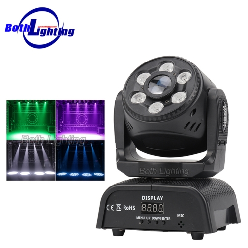 Mini Pattern + Wash 2in1 Moving Head Light